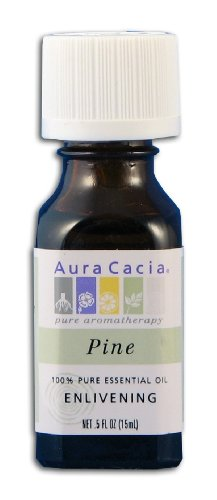 Aura Cacia Thyme, Red Essential Oil France/Spain .5 Oz