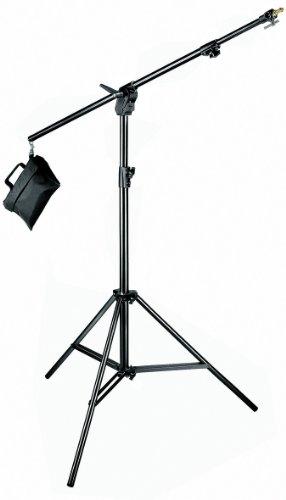 Manfrotto Aluminium Combi-Boom Stand with Sandbag - Black