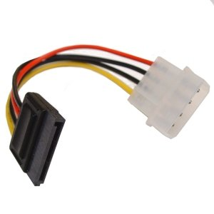 "NEW! SATA Female to 5.25"" Molex Male Power Adapter: Amazon.co.uk ..."