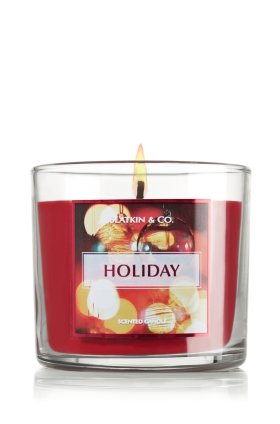 Slatkin & Co. 14.5 Oz. 3-wick Candle Holiday