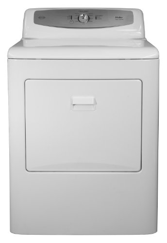 7 Haier Rde350aw 6 1 2 Cubic Feet Electric Dryer White