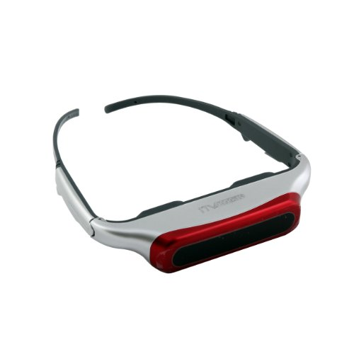 iTV Goggles with 80-Inch Virtual Hi-Resolution Screen and 3D Capability for 3D Movies