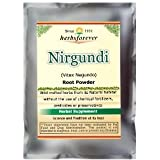 Nirgundi Powder (Leaves, Plant) (Vitex Negundo) (Ayurvedic Formulation) (Wild Crafted from natural habitat) 16 Oz, 454 Gms 2x Double Potency