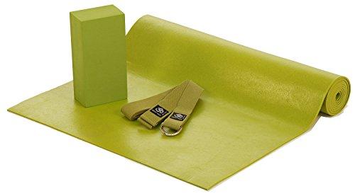 45-mm-set-with-yoga-block-yoga-yoga-mat-yoga-strap-black-heavy-duty-pvc-yoga-mat-complete-set