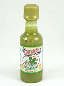 Marie Sharps Green Habanero Hot Sauce Mini With Prickly Pears from Ocean Winds Trading Co