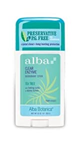 Alba Botanica Tea Tree Deodorant Stick, 2 oz