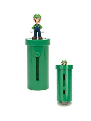 Super Mario Bros Wii Luigi Warp Pipe Micro SD Card Reader