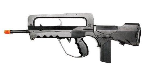 SoftAir Foreign Legions Famas Spring Powered Airsoft Rifle (Black)