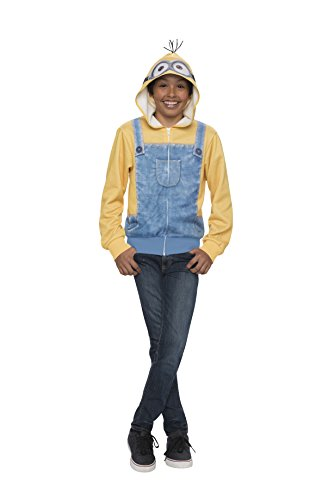 Rubie's Costume Minion Tween Sweatshirt Hoodie, Standard, One Color