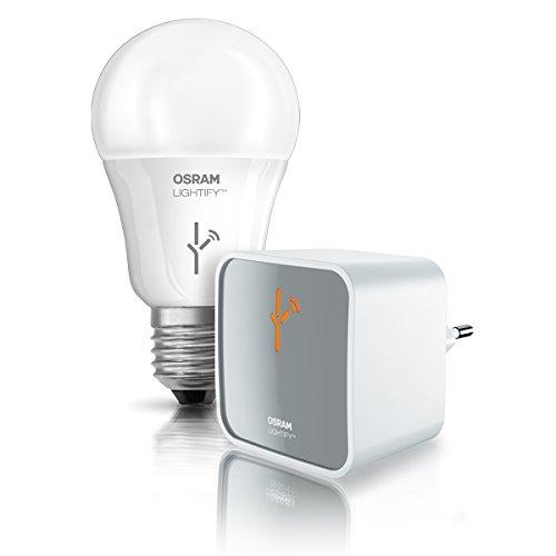 osram-apparecchio-lightify-starter-kit-gateway-e-classic-a-rgbw-e27-plastica-bianco-60-w
