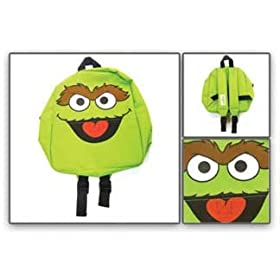 Sesame Street Backpack - Sesame Street - Oscar Grouch Face at Sears.com