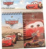 Disney Pixar Cars School Supplies : Lightning McQueen Notepad / Memo Pad (2-pc)