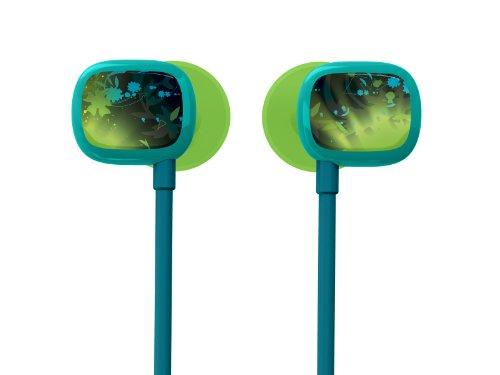 Ultimate Ears 100 Noise-Isolating Earphones - Jade Guitar Green/Blue
