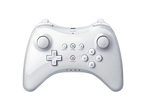 Dual Analog Wireless Gamepad Controller For Nintendo Wii U Pro White