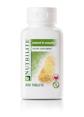 Nutrilite Natural B Complex Dietary Supplement 300 Tablets front-894965