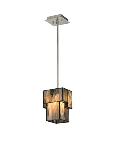 Artistic Lighting Pendant, Brushed Nickel