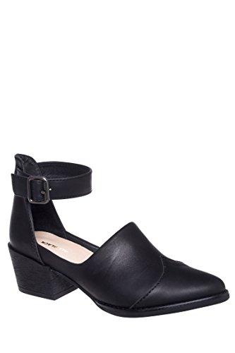 Open Boot Strap Casual Low Heel