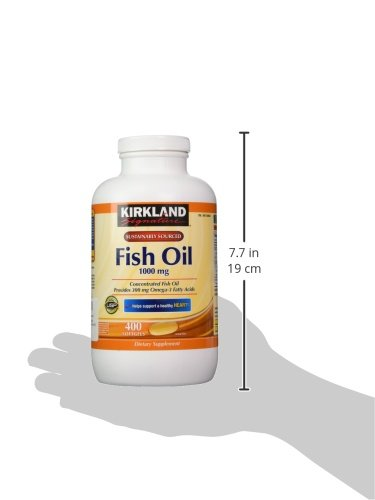 Kirkland signature omega 3 fish oil concentrate 400 for Kirkland fish oil review