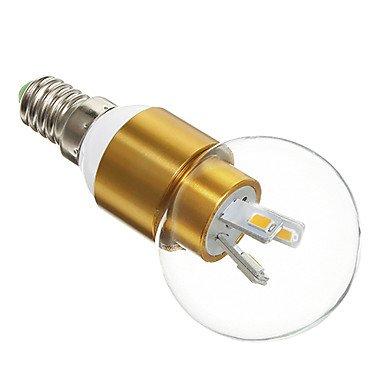 Rayshop - E14 3W 6X5730Smd 300Lm 2700-3500K Warm White Light Led Globe Bulb(190-230V)
