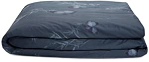 Calvin Klein Home Smoke Flower King Duvet Cover, Nightingale