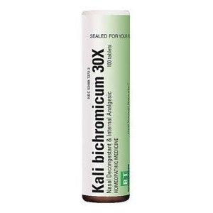 Boericke & Tafel Kali Bichromicum 30X -- 100 Tablets