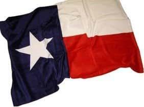 Texas State Flag Beach Towel