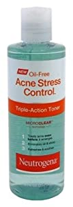 Neutrogena Acne Stress Control Triple Action Toner 8oz (3 Pack)