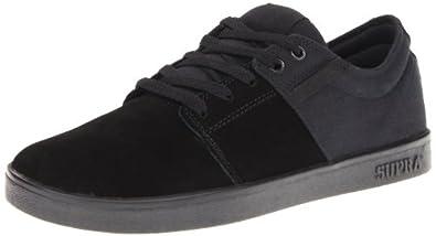 SUPRA The Stacks Sneaker,5M / 7W,Black