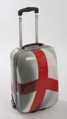 England Cabin Trolley Suitcase ABS by Official England Merchandise