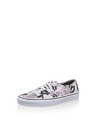Vans Zapatillas Authentic (Gris Claro / Negro / Rosa)