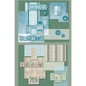 PAPER BOOK VACATION Papercraft, Scrapbooking (Source Book)