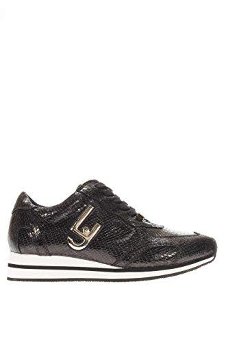 S66067E0331 03V32.Sneaker running glicine.Nero pitone.39