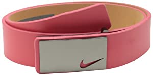 Nike Golf Men's Sleek Modern Plaque, Light Crimson, 34