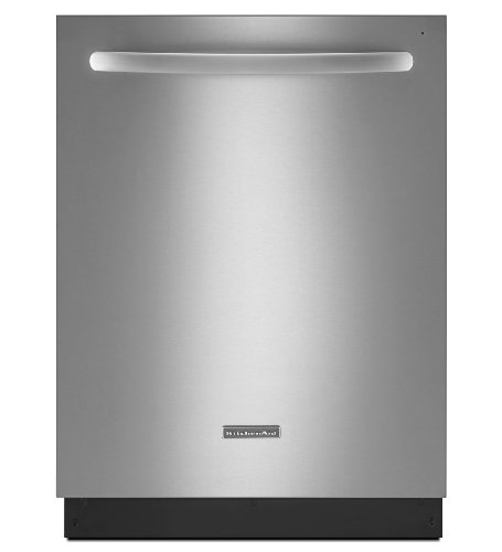 KITCHENAID KDTE404DSS 24'' 6-Cycle/6-Option Dishwasher, Architect