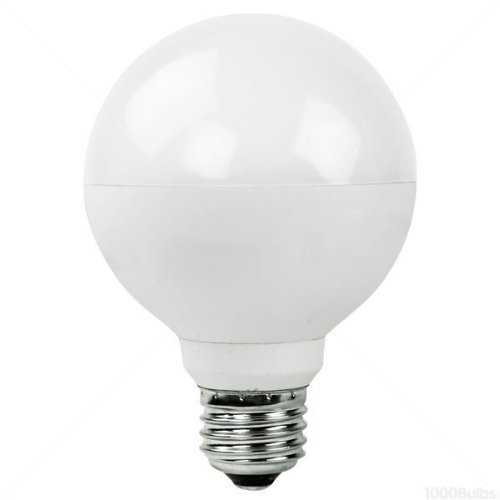 3 Watt - Dimmable Led - G25 - 3.15 In. Dia. - 3000K Halogen White - 200 Lumens - 25 Watt Equal - Medium Base - 120 Volt - Polaroid Plg25-25.200.3.1S