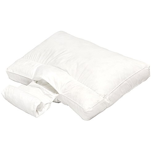 Adjustable Neck Support ANS Bed Pillow USA MADE Memory FoamPearl