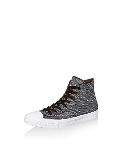 Converse Sneaker Alta Chuck Taylor All Star Ii High Sneaker [Nero/Bianco]