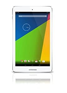 """Latte ICE Tab2 Android 4.2 7"""" HD IPS screen quad core tablet. Dual Cameras, 1GB RAM, Wifi - 8GB, White"""