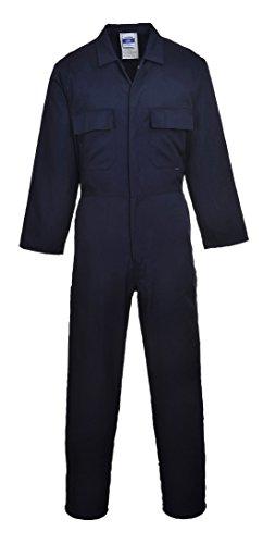 Portwest da uomo Euro lavoro in policotone tuta (S999)/Workwear Navy XL Alto
