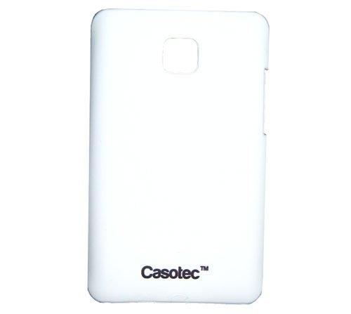 Casotec Ultra Slim Hard Shell Back Case Cover for LG Optimus L3 II E435 - White  available at amazon for Rs.125