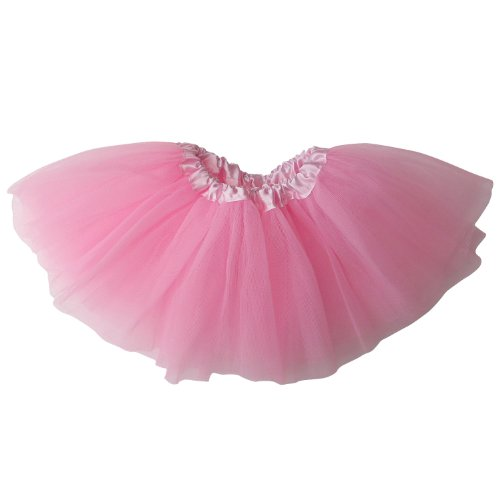 Infant Baby Girls Ballet Fairy Princess Costume Dress-Up 3 Layer Tutu