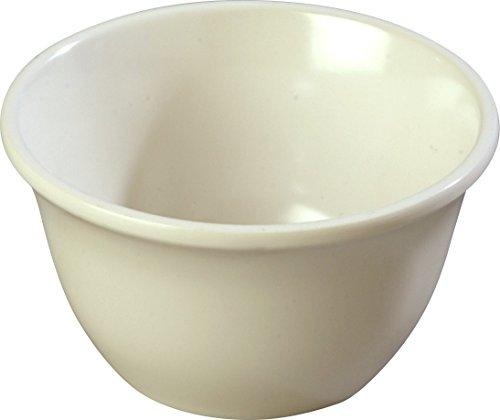 Carlisle 4305042 Durus Melamine Bouillon Cup, 12 Oz., Bone (Pack of 48)