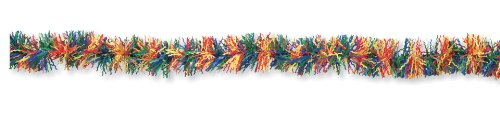 Creative Converting Fringe Party Decor Garland, Multicolor Primary - 1