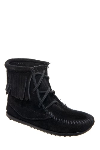Minnetonka Kids Lace-Up Ankle Boot
