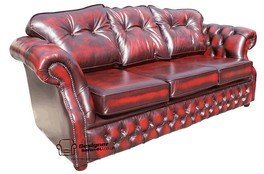 Chesterfield Era 3 Seater Settee Traditional Chesterfield