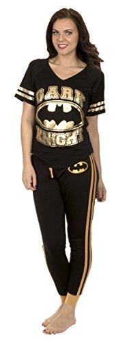 Batman Varsity Style Pajama Set