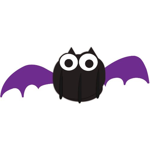 Creative Converting Halloween Dimensional Pop-Out Style Bat Centerpiece