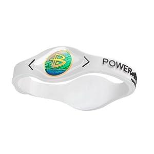 Power Balance / GWSA09BK00WTLP Bracelet silicone Blanc /Noir XS