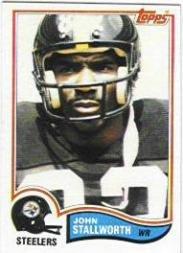 1982 Topps #219 John Stallworth