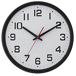 Chaney Instruments 14-Inch Electra Wall Clock With Set & Forget Technology